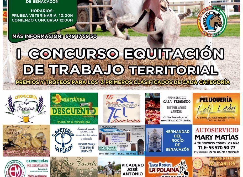 I Concurso Equitación de trabajo Territorial en Benacazón 4-3-2018