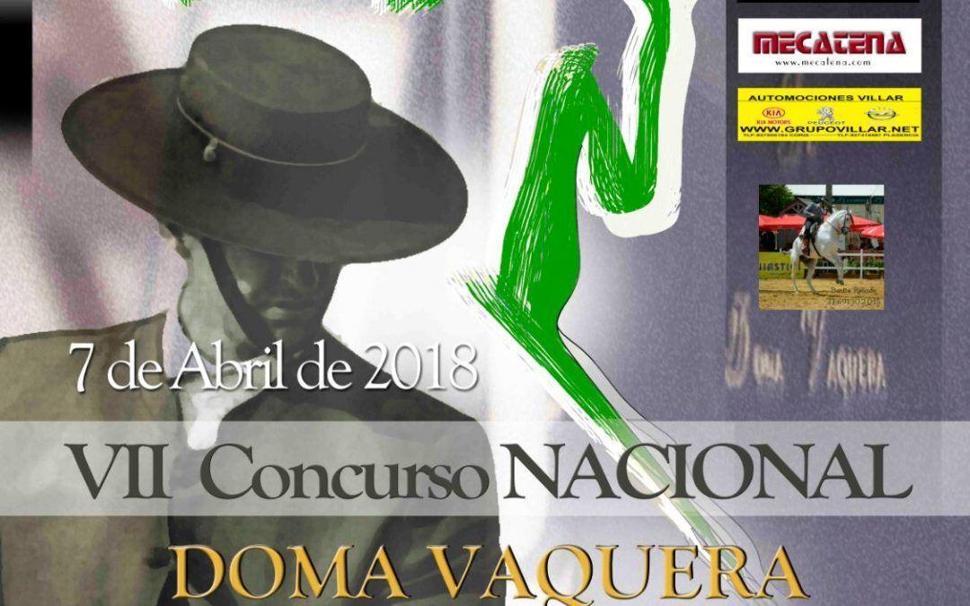 VII Concurso Nacional Doma Vaquera Portaje 7/4/18