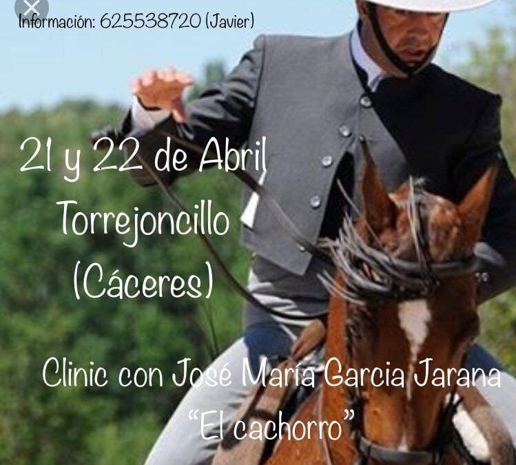"""Clinic con """"El Cachorro"""" Cáceres"""