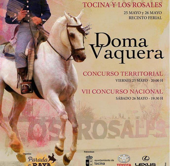 Concurso Doma Vaquera Tocina y los Rosales