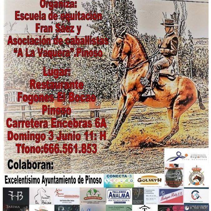 II CONCURSO DOMA VAQUERA ESCUELA DE EQUITACIÓN FRAN SÁEZ