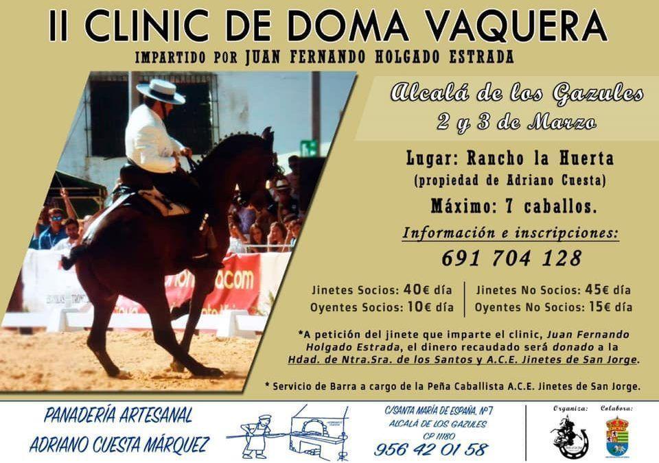 II Clinic ciudad de Alcalá de los Gazules