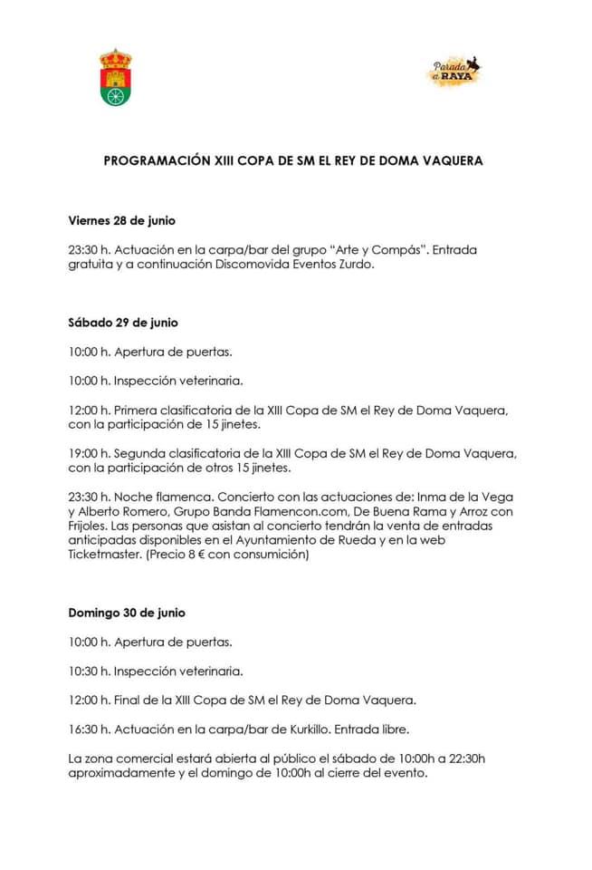 XIII Copa S.M. El Rey Doma Vaquera