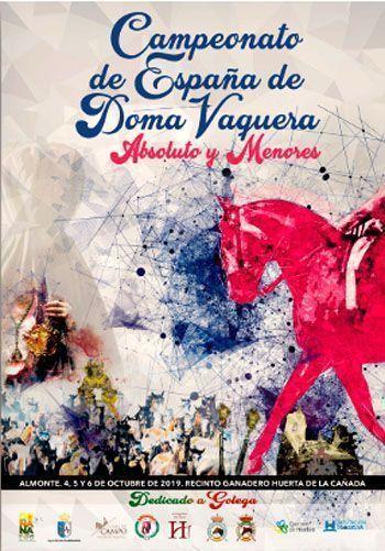 Campeonato de España de Doma Vaquera 2019